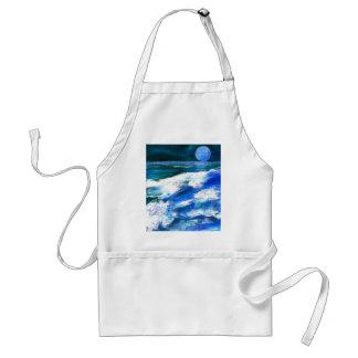 Moon Song - CricketDiane Ocean Art Aprons