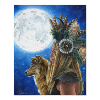 Moon Song Poster Viking Poster Wolf Poster