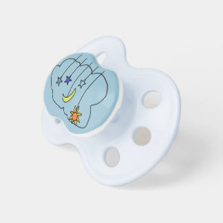 moon stars and sun Pacifier
