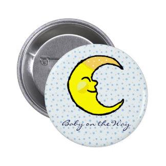Moon Stars Buttons