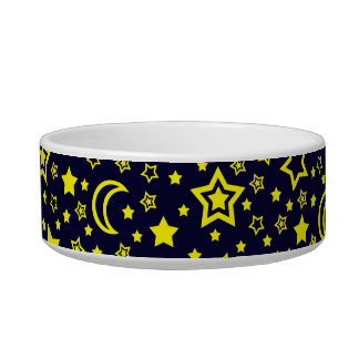 Moon & Stars (Small Dog) Bowl