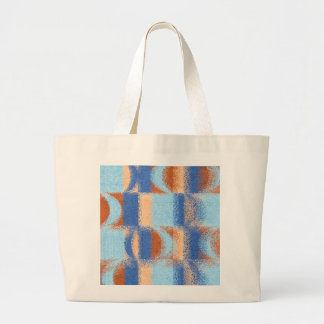Moon Stripes Fade Pattern Jumbo Tote Bag