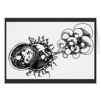 moon, sun and wind card