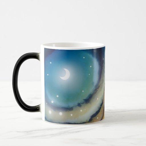 Moon Sunset Morphing Mug Coffee Mugs