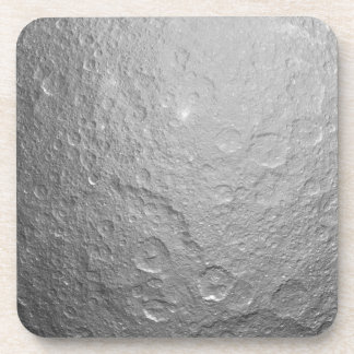 Moon Surface Texture Beverage Coasters