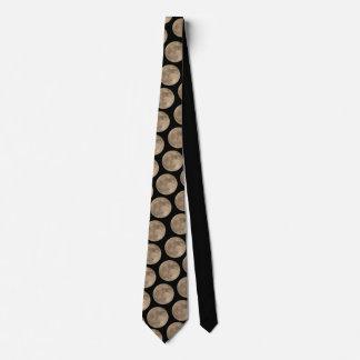 Moon Tie Full Moon Neckties Men's Moon Gifts