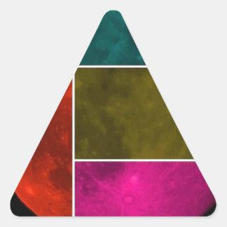 Moon Triangle Sticker