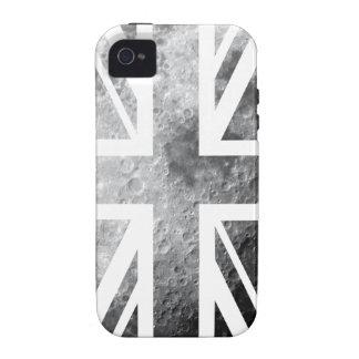 Moon Union Jack British(UK) Flag Vibe iPhone 4 Cover