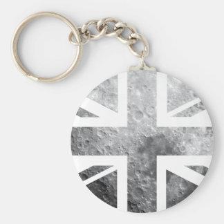 Moon Union Jack British(UK) Flag Keychain