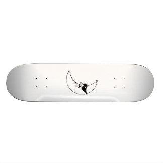 Moon Wearing Sunglasses Skateboards