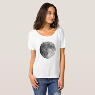 Moon Woman's Boyfriend T-Shirt - Planets