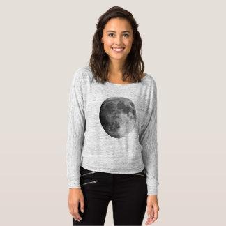 Moon Women's Bella+Canvas Flowy Off Shoulder Shirt