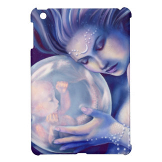 Moonborn - Mermaid and Baby Cover For The iPad Mini