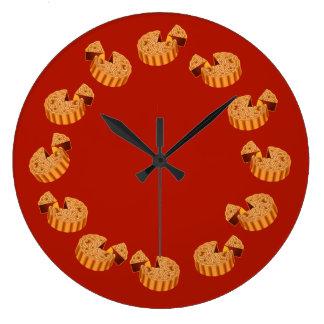 Mooncake Wall Clocks