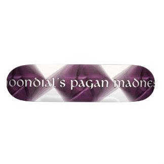 Moondial s Pagan Madness Custom Skate Board