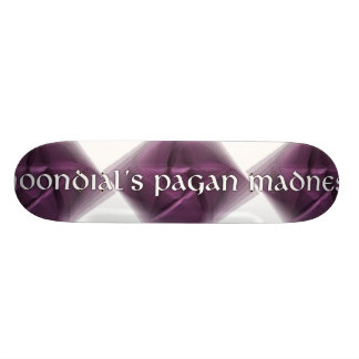 Moondial's Pagan Madness Skateboard Deck