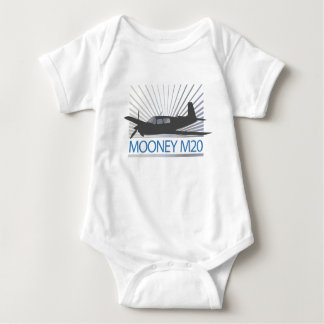 Mooney M20 Aviation Baby Bodysuit
