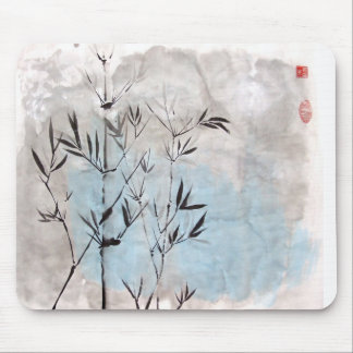 Moonlight Bamboo Mouse Pad