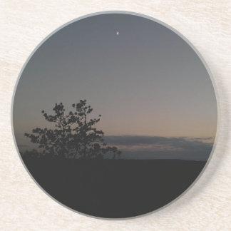 Moonlight Beverage Coaster