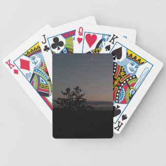 Moonlight Bicycle Playing Cards