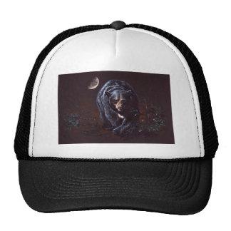 Moonlight Black Bear Cap