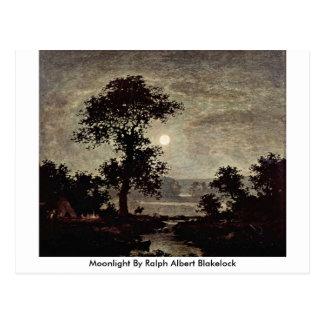 Moonlight By Ralph Albert Blakelock Postcard