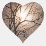Moonlight Dream Heart Stickers
