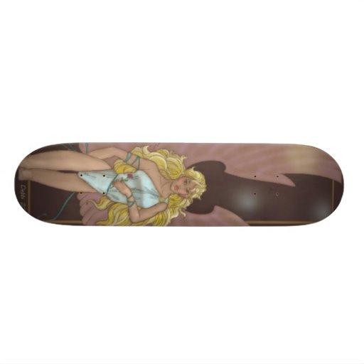 Moonlight Fairy Skate Board Decks