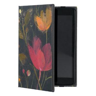 Moonlight Garden on Black Cover For iPad Mini
