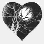 Moonlight Heart Sticker