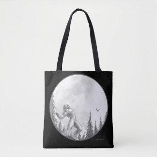 Moonlight Howl tote bag by Bigfoot Bling