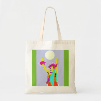 Moonlight Hula Tote Bag