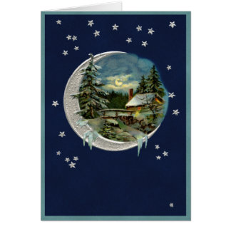 Moonlight in Vermont Card