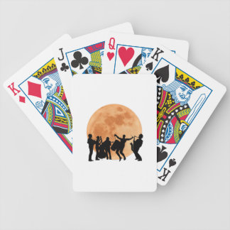 Moonlight Jazz Bicycle Playing Cards