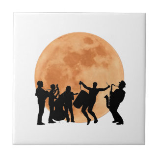 Moonlight Jazz Ceramic Tile