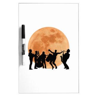 Moonlight Jazz Dry Erase Board