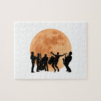 Moonlight Jazz Jigsaw Puzzle