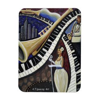 Moonlight Jazz Premium Flexi Magnet