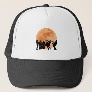 Moonlight Jazz Trucker Hat