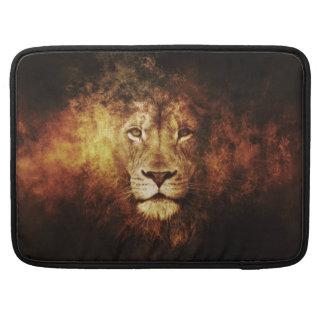 Moonlight Lion Sleeve For MacBooks