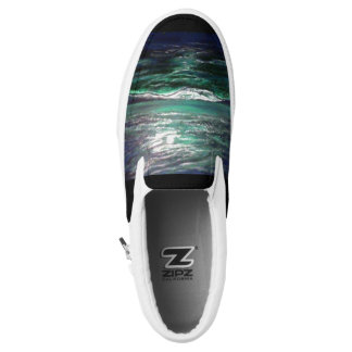 Moonlight Ocean Slip On Shoes