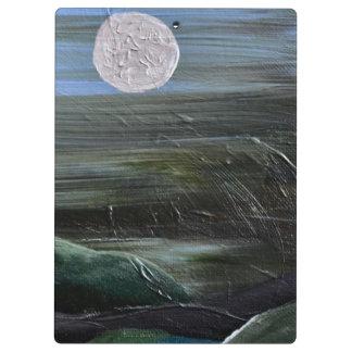 Moonlight on the Hills Clipboard