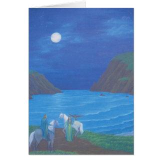 Moonlight Ride Card