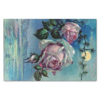Moonlight Roses A Tissue Paper