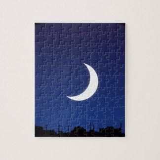Moonlight sky jigsaw puzzle