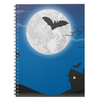 Moonlight sky notebook