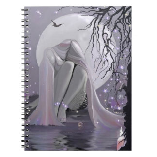 Moonlight Sleeper! Spiral Notebook