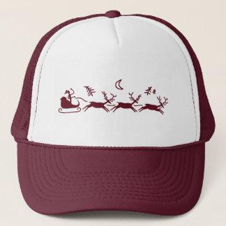 Moonlight Sleigh Ride Trucker Hat