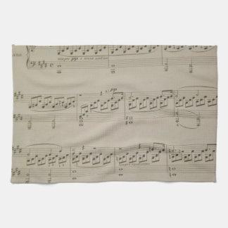 Moonlight Sonata Tea Towel
