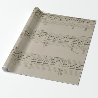 Moonlight Sonata Wrapping Paper